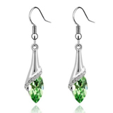 Crystal Teardrop Dangle Earrings coupon pro