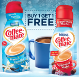 coffee-mate buy 1 get 1 free