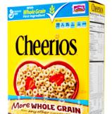 Cheerios yellow box