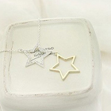 silver and gold star necklace coupon pro