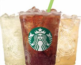 Starbucks fizzio sodas