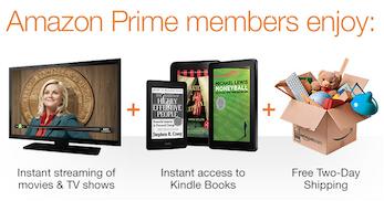 Amazon prime member benefits