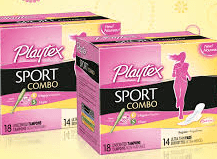 Playtex sport combo