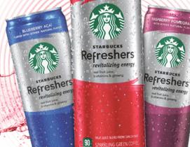 Starbucks refreshers energy