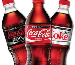 Coca-cola coke bottles