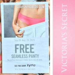 459428aee023 Victoria's Secret: FREE Seamless Panty ($12.50 Value!) — Coupon Pro