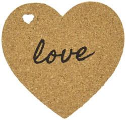 Set of 4 Kate Aspen Heart Cork Coasters coupon pro
