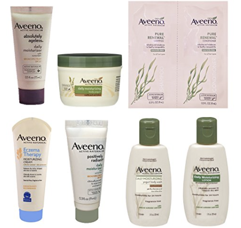 Amazon: Aveeno Sample Box Only $7.99 & Get $7.99 Credit