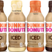 Dunkin' Donuts Bottled Iced Coffee