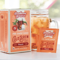 Southern Breeze Peach Cold Brew Sweet Tea