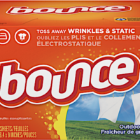 Walgreens: Bounce 80-Count Dryer Sheets – Only $1.39