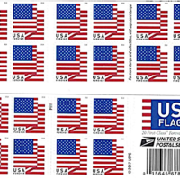 US Flag Forever Stamps