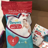 FREE Sample of Pampers Cruisers Diapers
