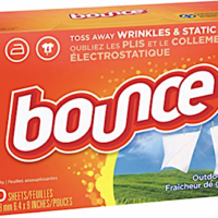 Amazon: Bounce 120-Count Dryer Sheets – Only $2.26