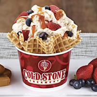 Sprint Customers: FREE $3 Cold Stone Creamery Gift Card (Mobile App)