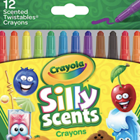 Amazon: Crayola Silly Scents Twistables Crayons 12-Pack – Only $2.20