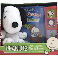 Amazon: Peanuts Merry Christmas Charlie Brown Board Book w/ Snoopy Plush – Only $3.74
