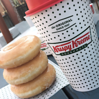 Krispy Kreme: FREE Doughnut & Coffee (Today Only)