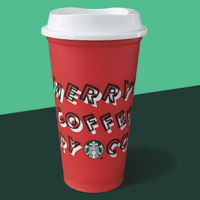 Starbucks: FREE Reusable Cup w/ Holiday Drink Purchase (November 7th)