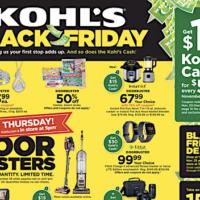 Kohl's: Select Black Friday Deals Live NOW
