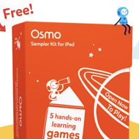 FREE Kids Osmo Sampler Kit for iPad