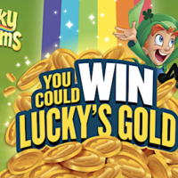 Lucky Charms ''Win Lucky's Gold'' Instant Win Game (10,582 Winners!)
