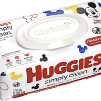 Amazon: 64-Count Huggies Baby Wipes – Only $1.69