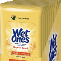 Amazon: Wet Ones Antibacterial Hand Wipes Available Now