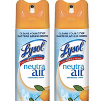 Amazon: Lysol Air Sanitizing Spray Air Freshener Available Now