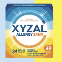 FREE Sample of Xyzal Allergy 24HR Allergy Relief