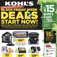 Kohl's: More Early Black Friday Deals Are Live Now