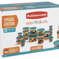 Walmart: Rubbermaid 38-Piece Food Storage Set – Only $6.75