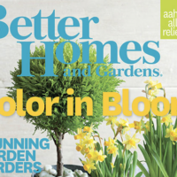 FREE Subscription to Better Homes & Gardens Magazine