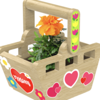 Lowe's Build & Grow: FREE Basket Planter Kit on May 8-9 (Register Now)