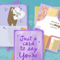 FREE 3-Pack of Hallmark Encouragement Greeting Cards (FIRST 333,333!)