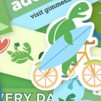 FREE Earth Day Stickers from gimMe Snacks