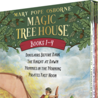 Amazon: Magic Tree House 4-Book Boxed Set – Only $4