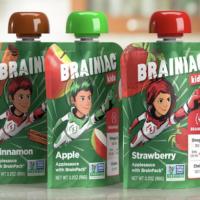 FREE Sample of Brainiac Applesauce Squeezers